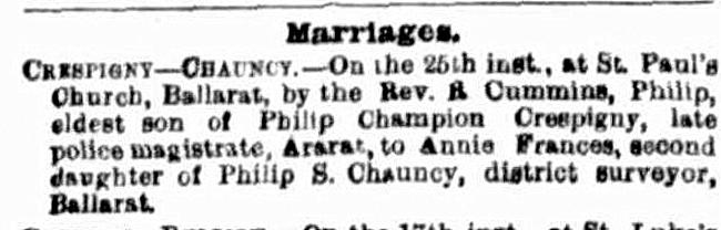 Wedding Wednesday: Philip Champion de Crespigny married