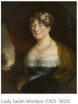 Crespigny nee Windsor Lady Sarah from Kelmarsh Hall
