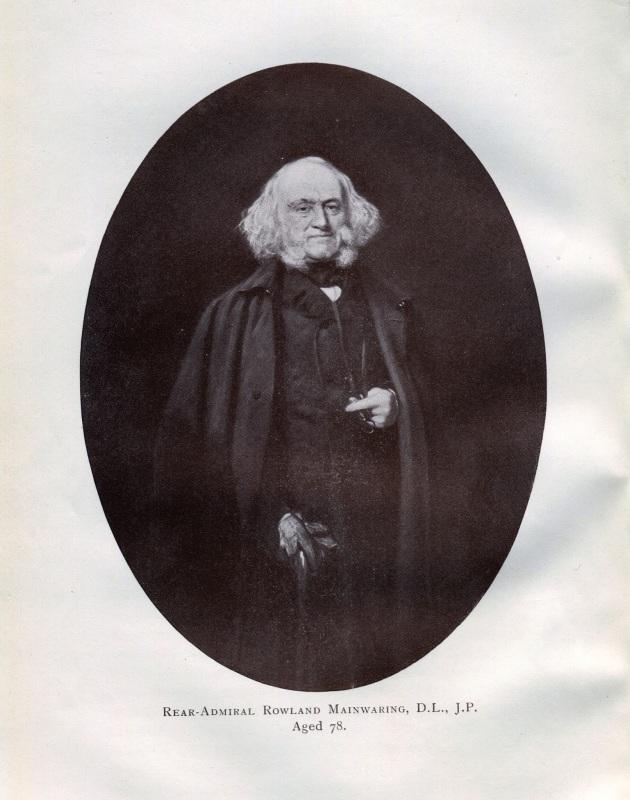 Rear-Admiral Rowland Mainwaring