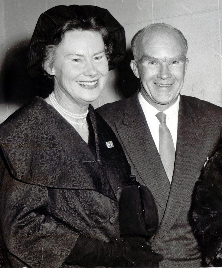 Kathleen and Geoff 1960