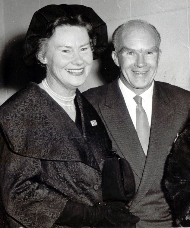 Kathleen and Geoff 1960
