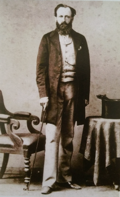 """Photograph of Gordon Mainwaring from """"Whitmore Hall : from 1066 to Waltzing Matilda"""" by Christine Cavenagh-Mainwaring. Adelaide Peacock Publications, 2013. page 103."""