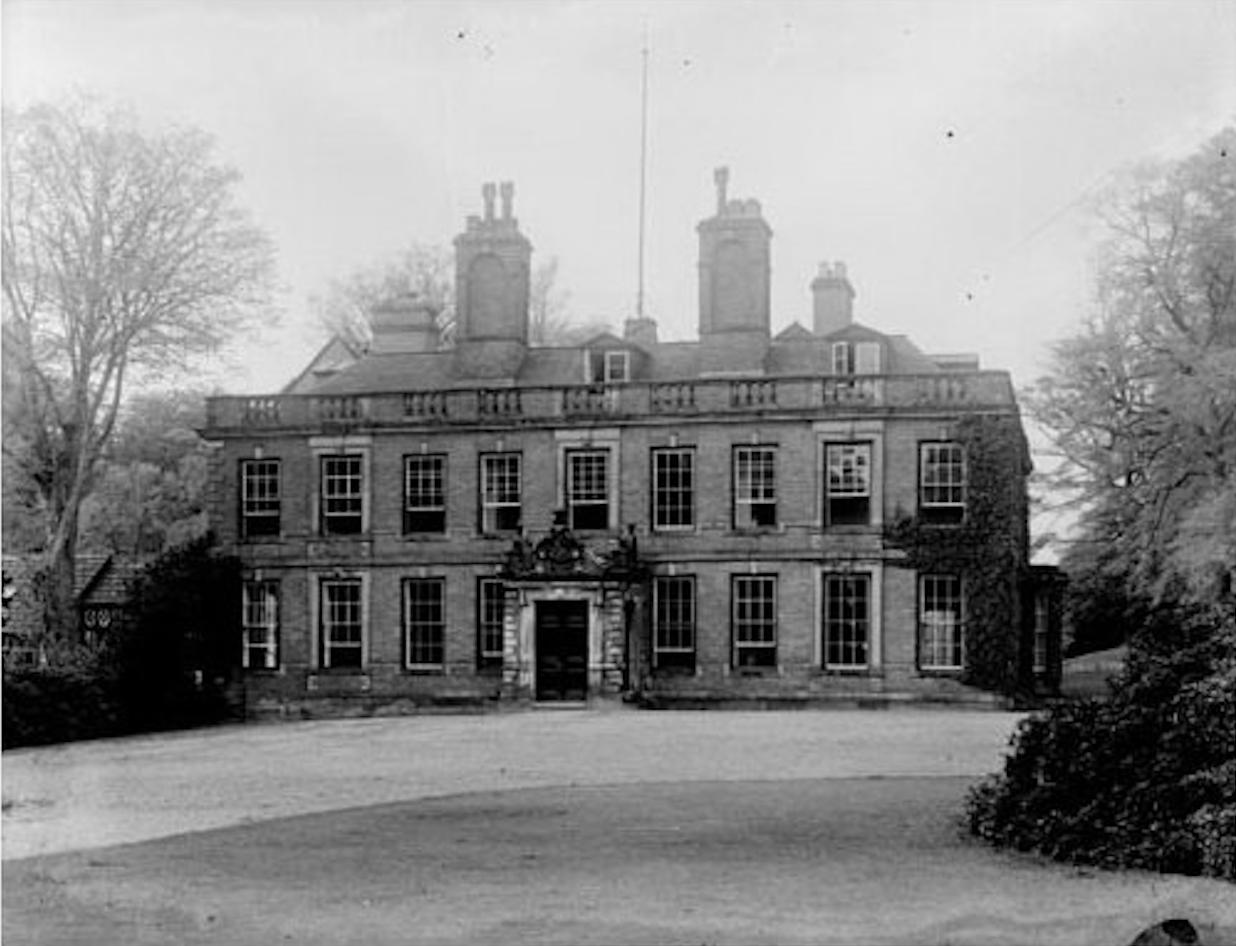 Whitmore Hall about 1920