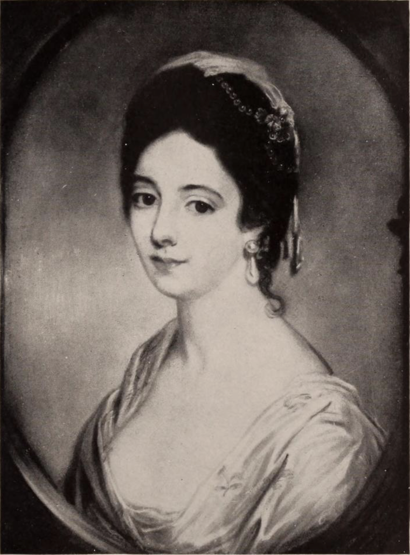 Lady Ann de Crespigny, portrait by Katherine Read