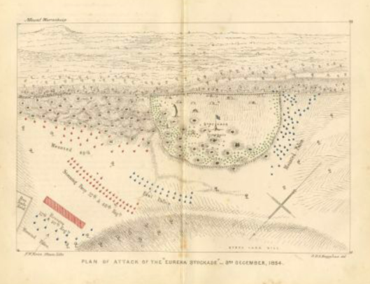 Hughye battlefield map