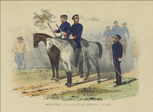 Mounted police 1853