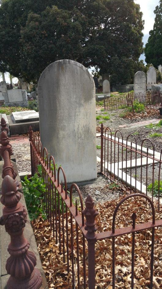St Kilda cemetery Chauncy grave 20170912