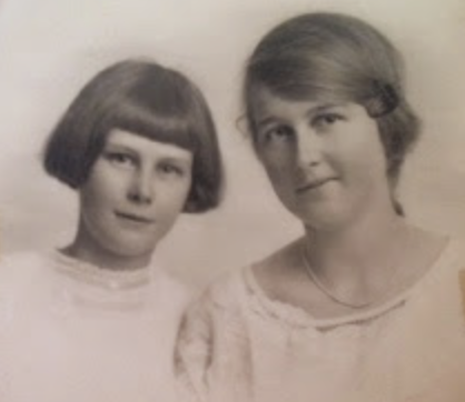 Kathleen and Rosemary