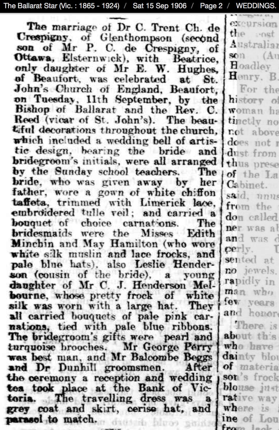 Ballarat Star 1906 09 15