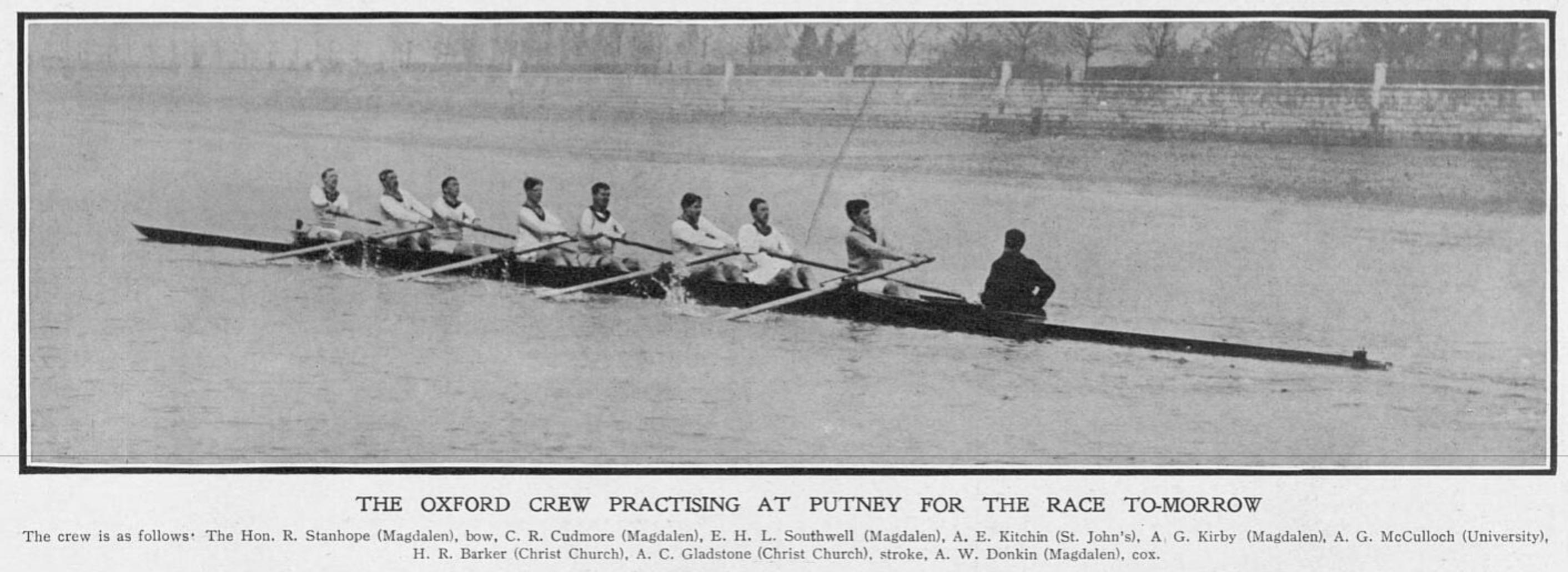 Cudmore rowing Sphere 4 April 1908 pg 13