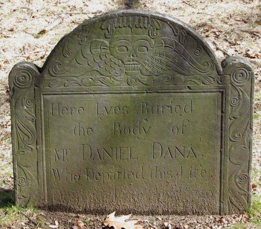Daniel Dana gravestone