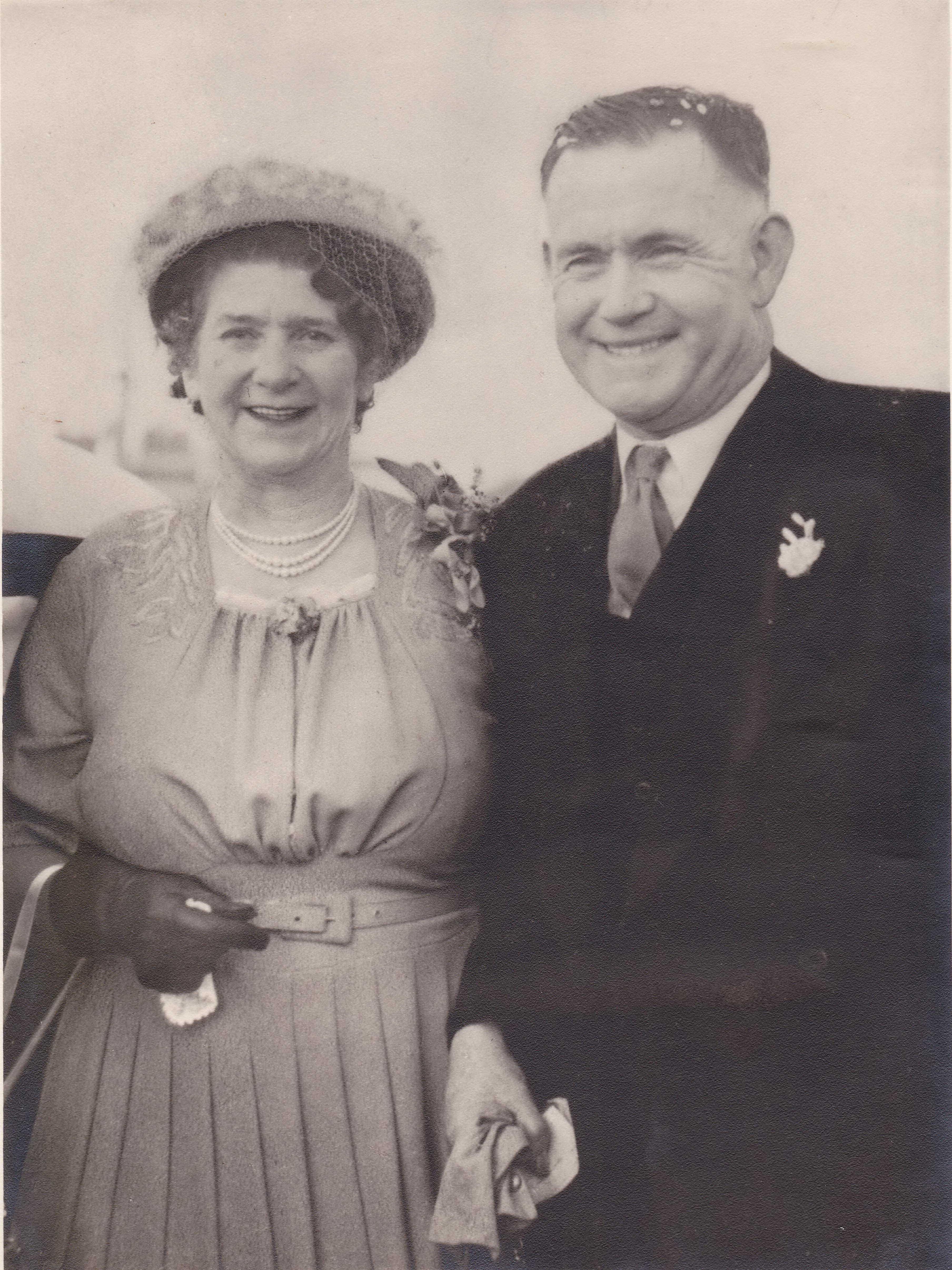 Doidge wedding 1949