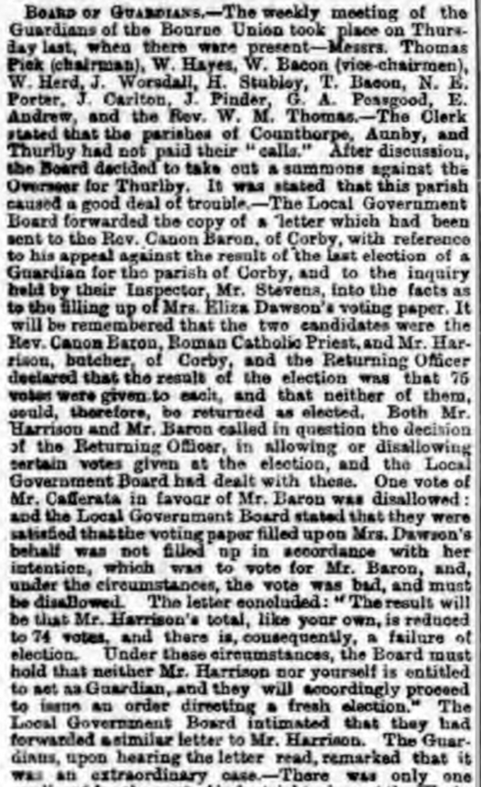 Grantham Journal 9 December 1893 page 6