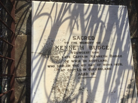 Kenneth Budge headstone