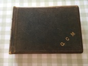 The photo album of Queen Cavenagh-Mainwaring now in the possession of a cousin
