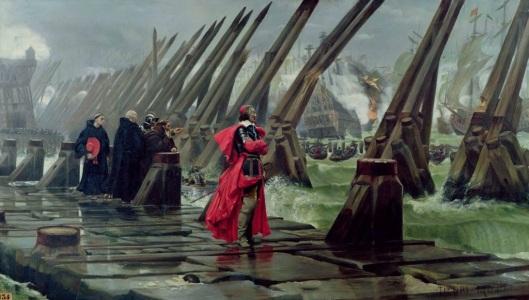 Siege_of_La_Rochelle_1881_Henri_Motte