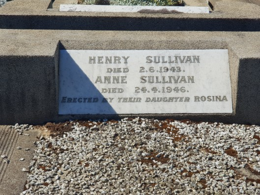 Sullivan headstone Cheltenham