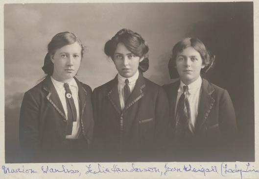 3 schoolgirls Henderson Leslie 703607273