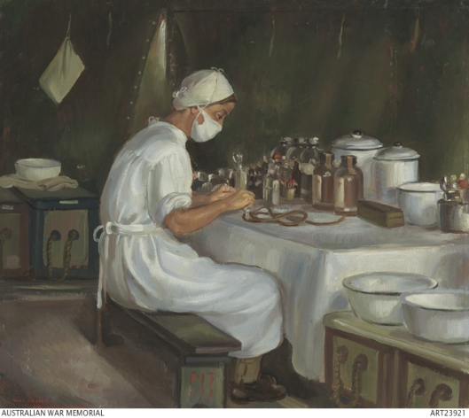 Goldstein Minnie by Norah Heysen 1944