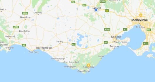South west coast Victoria