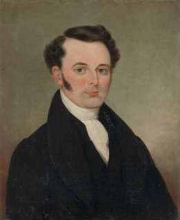 Francis Tuckfield, portrait in the collection of the National Portrait Gallery of Australia