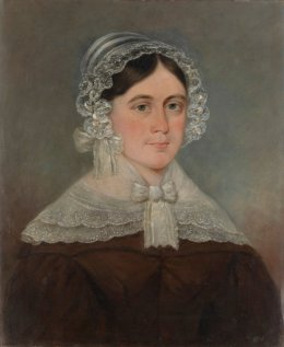 Sarah Tuckfield, portrait in the collection of the National Portrait Gallery of Australia