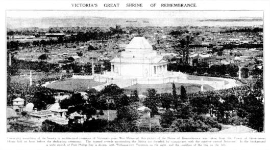 Shrine opening 1934