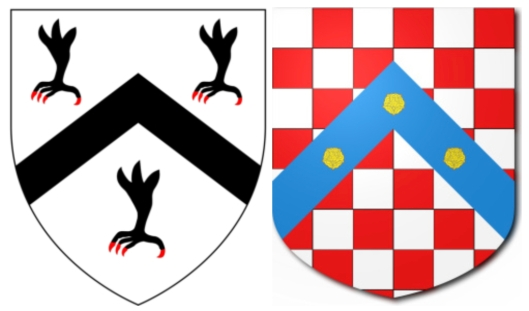Arms of Bray and Vaux
