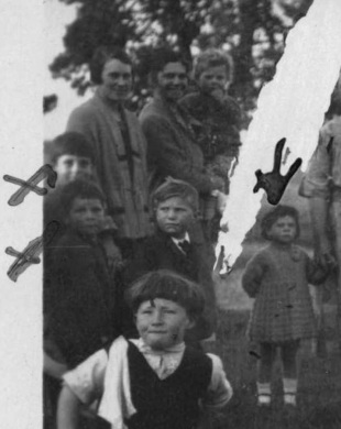 cross family abt 1925 close up