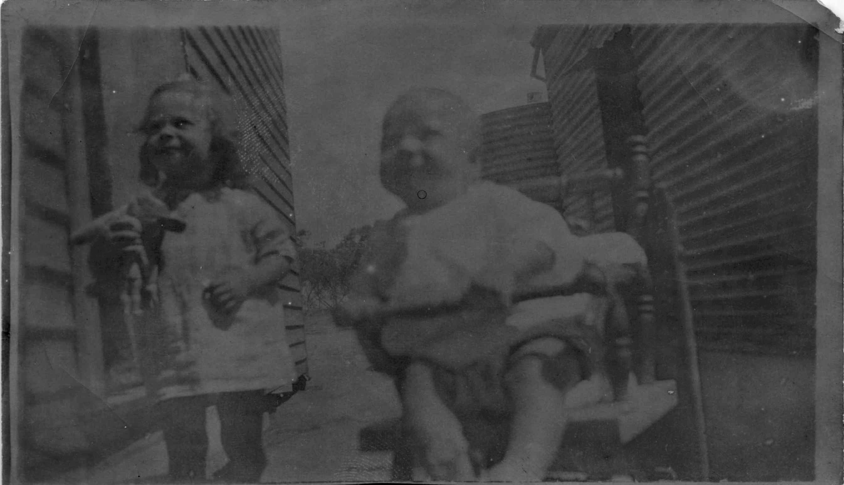 Elsie and Fred Christmas 1924