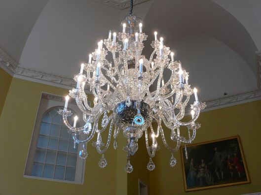 Chandelier in the Octagon Room, Bath Assembly Rooms.
