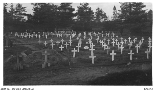 Brookwood cemetery January 1919 4168887
