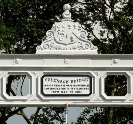 Cavenagh bridge arms