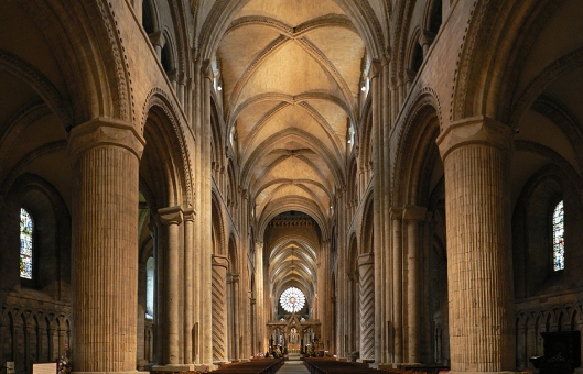Nave Durham Cathedral