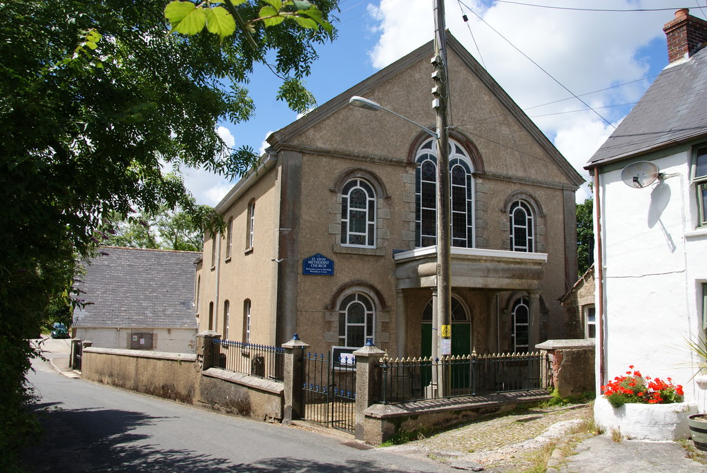 SW5435 : St Erth Methodist Church