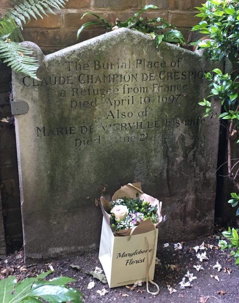 Marylebone Crespigny stone