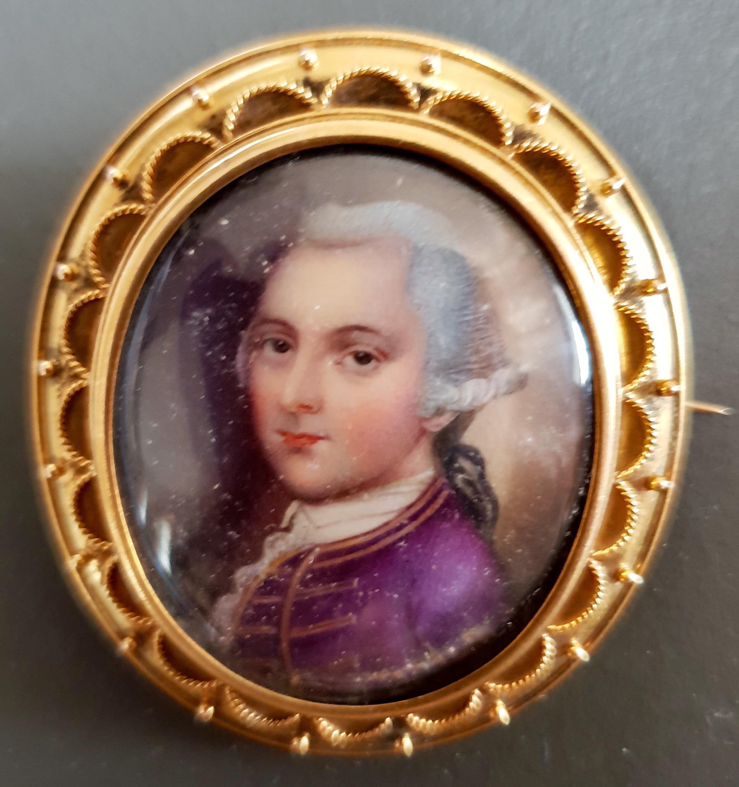 Edmund Dana miniature