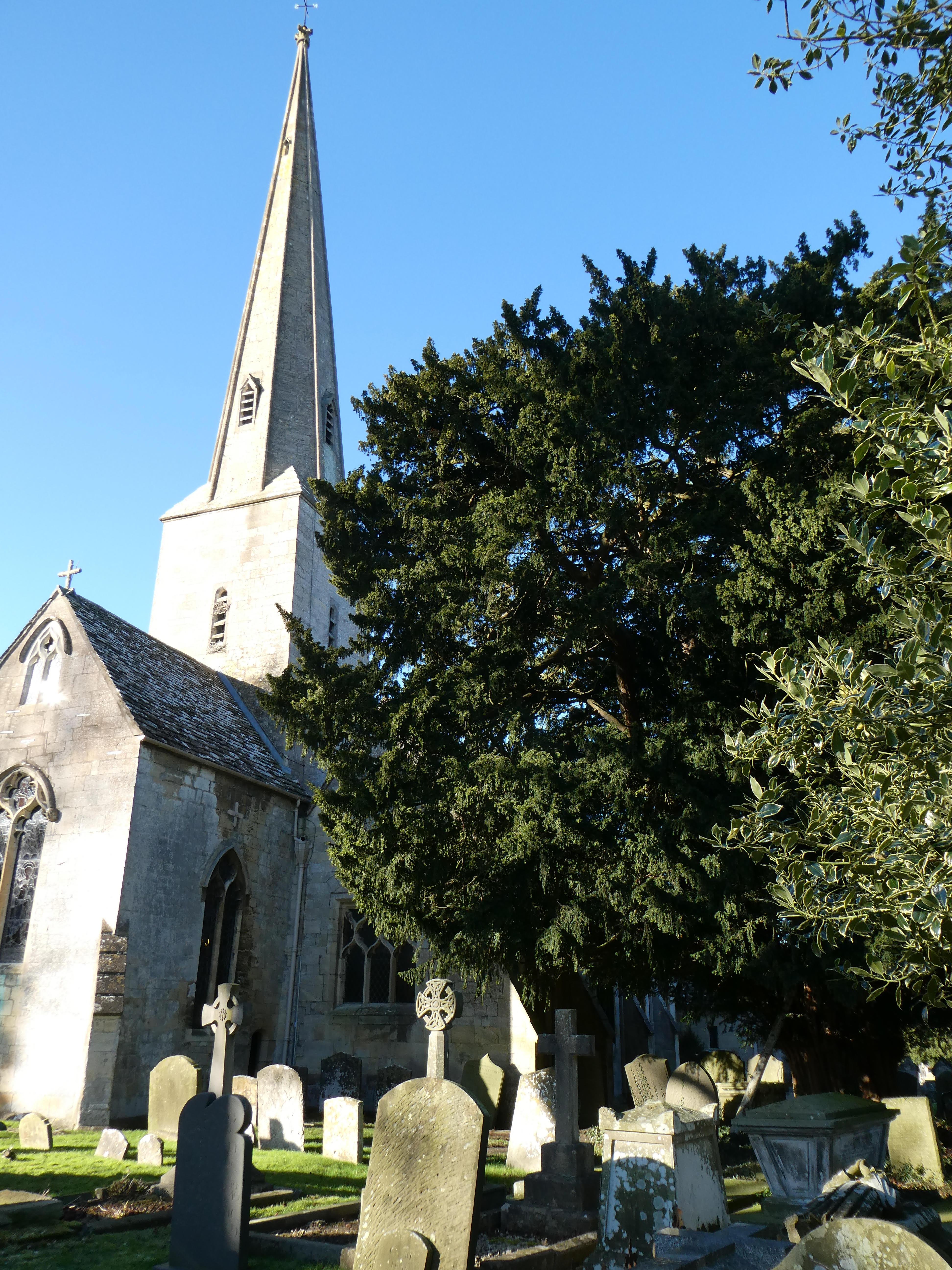 Leckhampton church