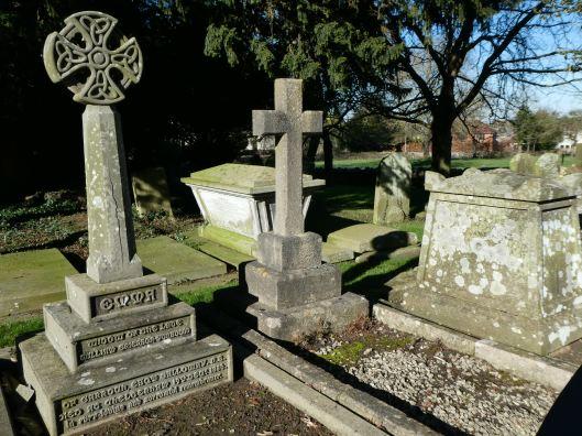 Leckhampton graveyard