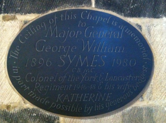 Sheffield Cathedral memorial plaque