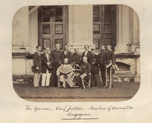 Singapore Council 1860s