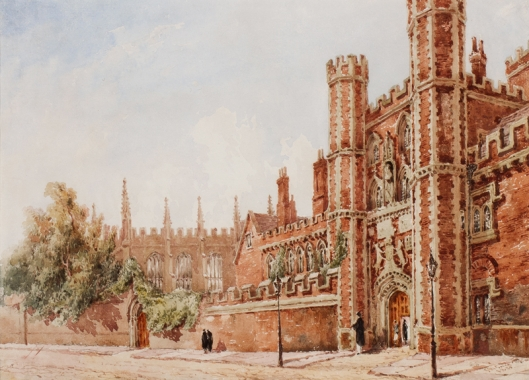St_John's_College,_Cambridge_by_Joseph_Murray_Ince