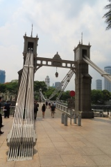 Cavenagh Bridge, Singapore