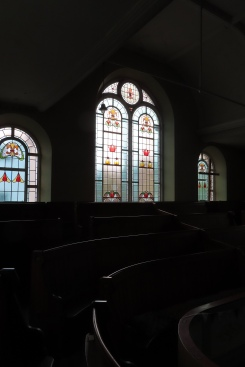 St Erth Methodist Chapel, window dedicated to John Gilbart