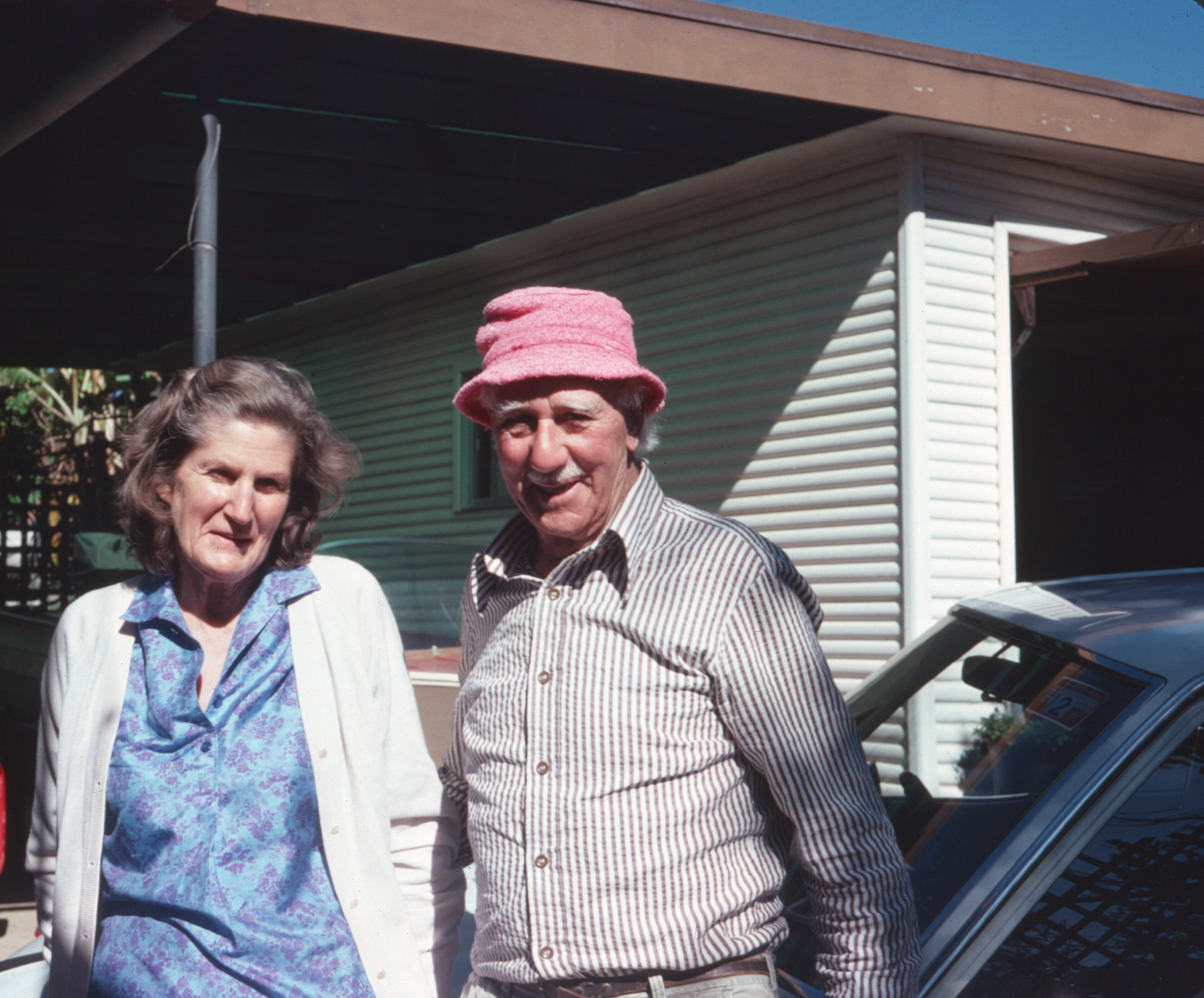 Phil and Jane de Crespigny