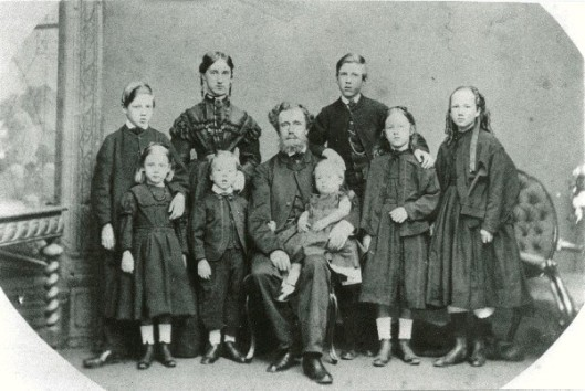 PLS Chauncy and family about 1867