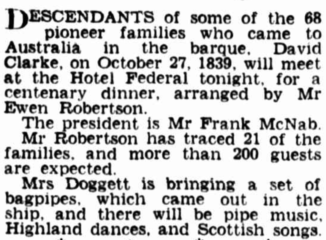 The Herald (Melbourne, Vic. - 1861 - 1954) View title info Fri 27 Oct 1939 Page 11 Today's Parties