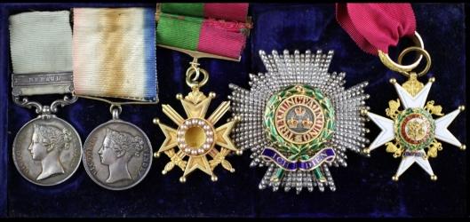 General Wymer medals
