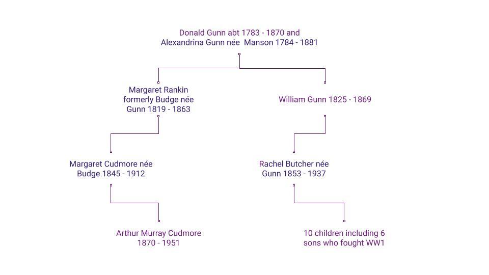 Gunn Butcher Cudmore cousins (2)