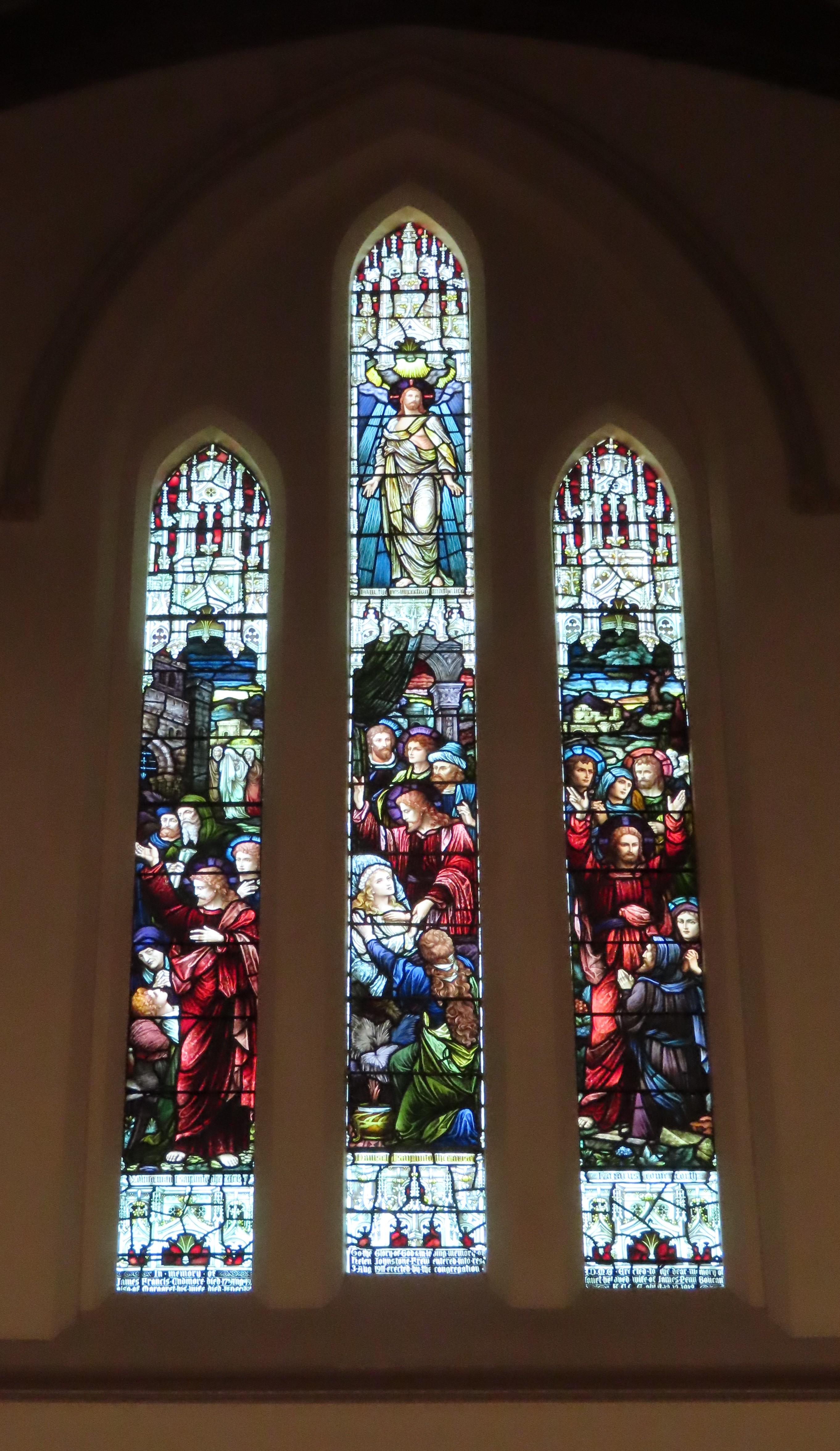 St Peters Glenelg West Window 20191030
